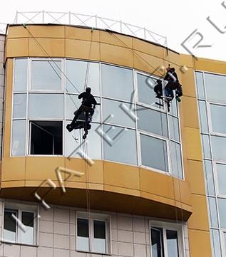 Промышленный альпинизм покраска фасадов цена