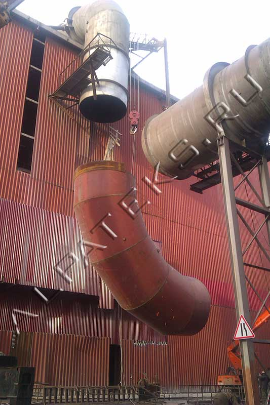 Демонтаж металлоконструкций на высоте цена